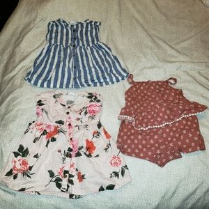 OLD NAVY SUMMER BABY GIRL LOT 6-9 MONTHS